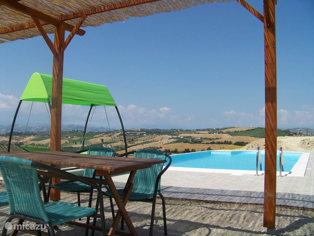 Vakantiehuis Italië, Abruzzen, Cologna Paese - appartement Casa Cologna (app. Ascoli Piceno)