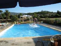 Het zwembad geeft alle gasten het echte vakantiegevoel.