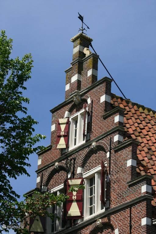 Mooie Friese gebouwen