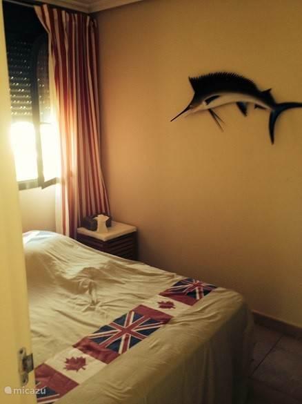 Slaapkamer met 2 persoons bed