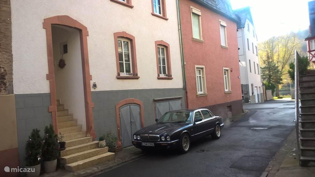 Fewo Jaguar, vlakbij de moezel en de wijnbergen