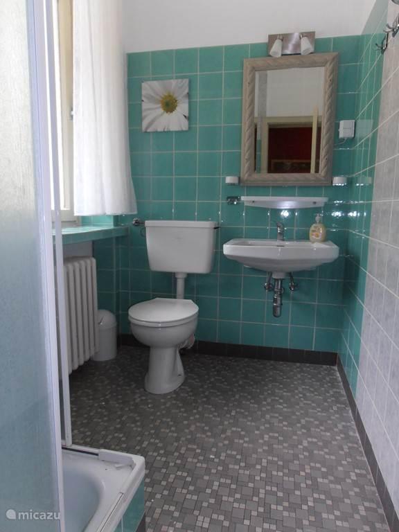 Badkamer eenpersoonskamer