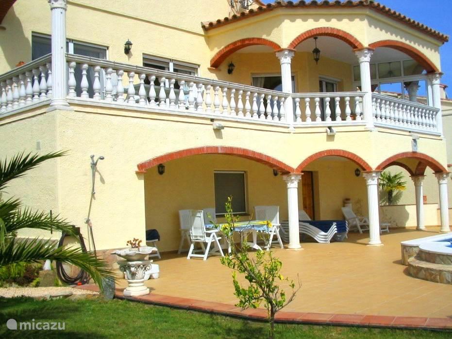 Vakantiehuis Spanje, Costa Brava, Roses villa Villa Garuda