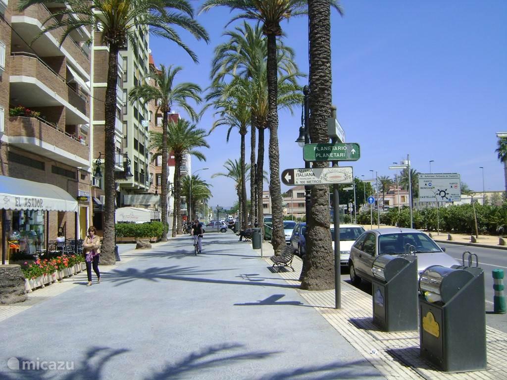 Havenstadje Grao - dichtbij Castellon; met heel goede restaurantjes