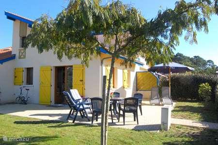 Vakantiehuis Frankrijk, Landes, Saint-Julien-en-Born vakantiehuis Village Océlandes woning bij strand
