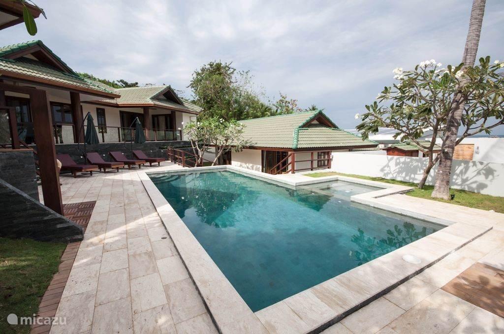 Vakantiehuis Thailand, Ko Samui – villa  Sea view deluxe grand villa