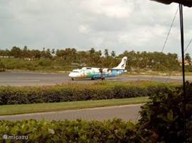 het vliegveld