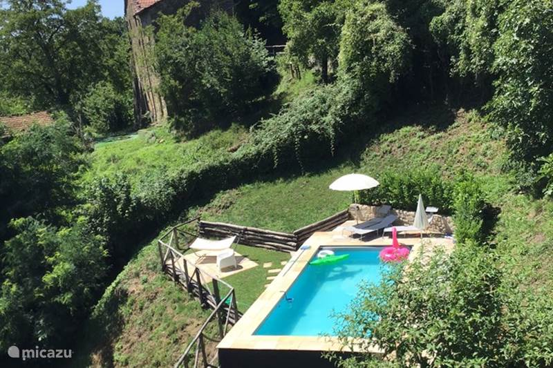 Vakantiehuis Italië, Toscane, Bagni di Lucca Vakantiehuis Casa il Soffitto