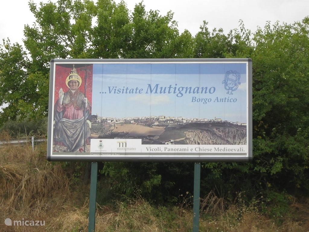 Il borgo antico di Mutignano