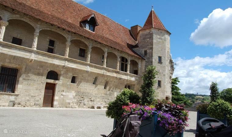 Het kasteel van Henri IV in Nerac