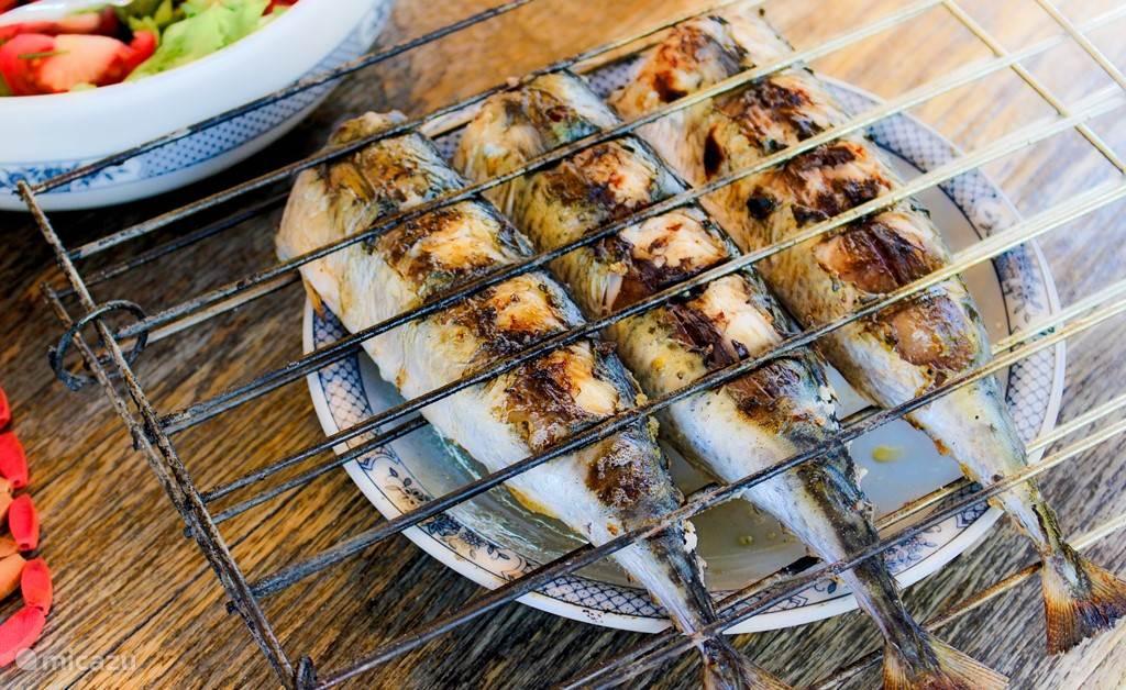 Sardines van de BBQ, Heerlijk!