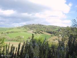 Lucertola: uitzicht op het NW