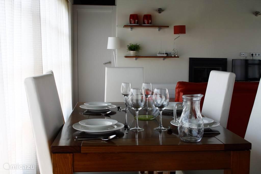 Eten en drinken thuis of in het restaurant