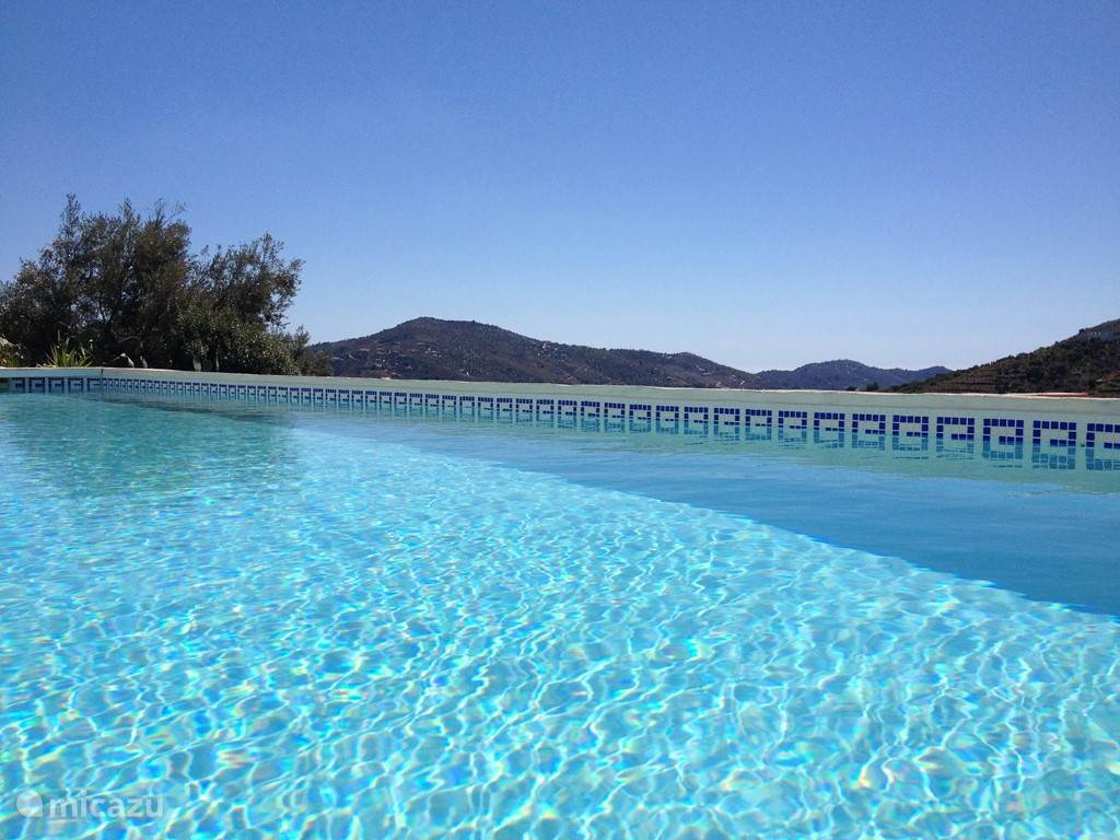 10 meter zoutwater zwembad