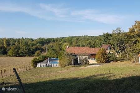Vakantiehuis Frankrijk, Lot, Frayssinet gîte / cottage Les Combes - 10 personen