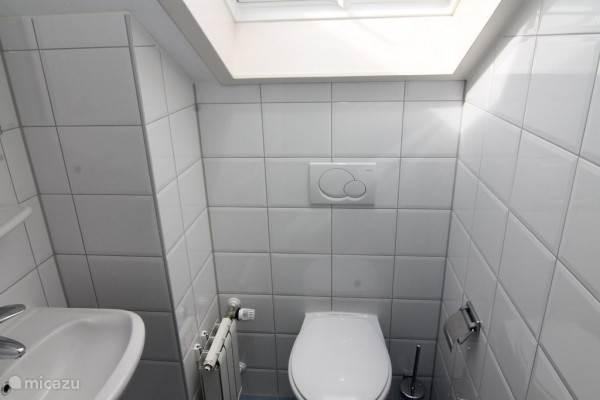 Toilet/wastafel boven
