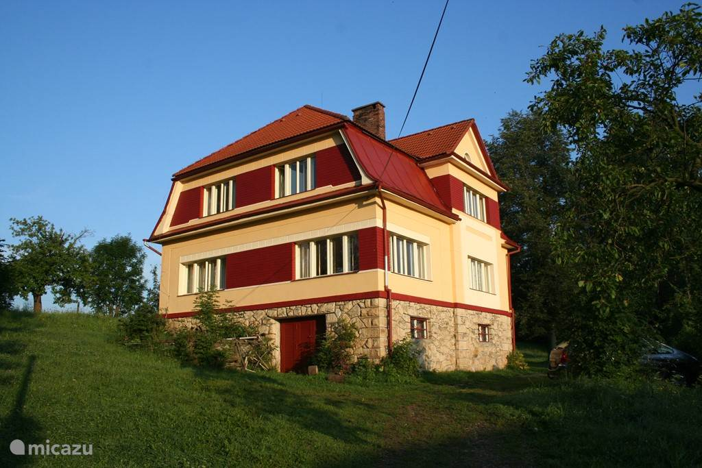 Vacation rental Czech Republic, Giant Mountains, Horni Branna villa Familiehuis Fuchs