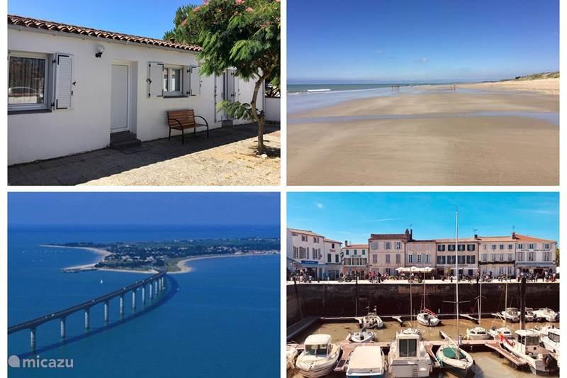 Vakantiehuis Frankrijk, Charente-Maritime, Le Bois-Plage-en-Ré Vakantiehuis Strandhuis Océan Île de Ré