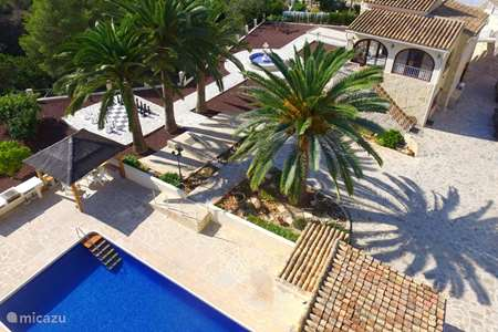 Vacation rental Spain, Costa Blanca, Benissa villa Villa Pendulo