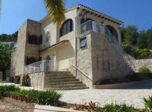 Vakantiehuis Spanje, Costa Blanca, Benissa Villa Villa Pendulo