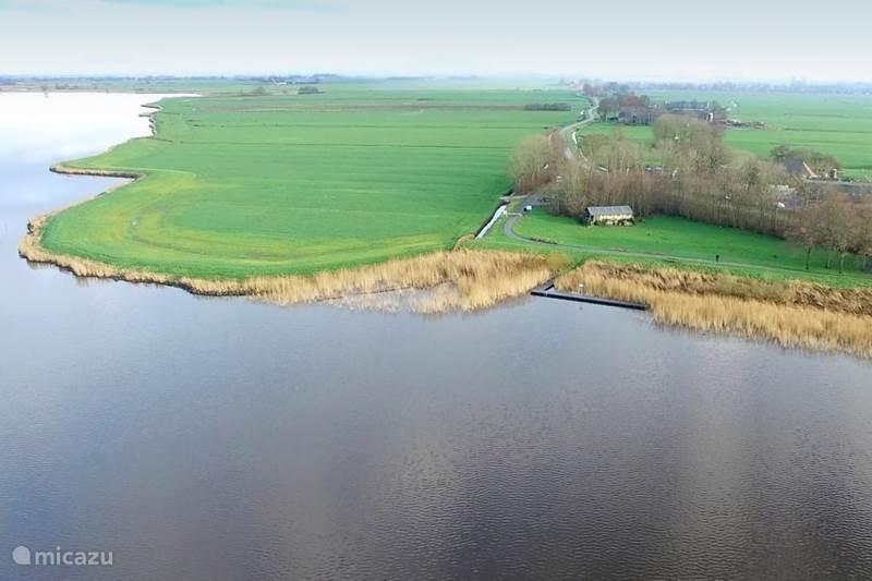 Vakantiehuis Nederland, Friesland, Indijk Vakantiehuis Glamptent Heegermeer Woudsend