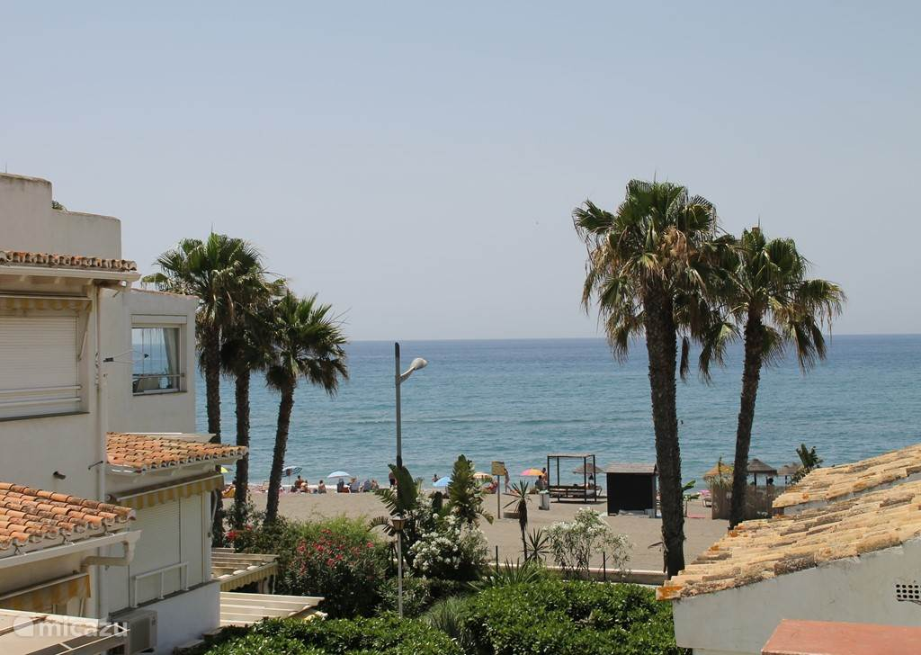 Vakantiehuis Spanje, Costa del Sol, Torrox-Costa Appartement Eerste lijn strand appartement