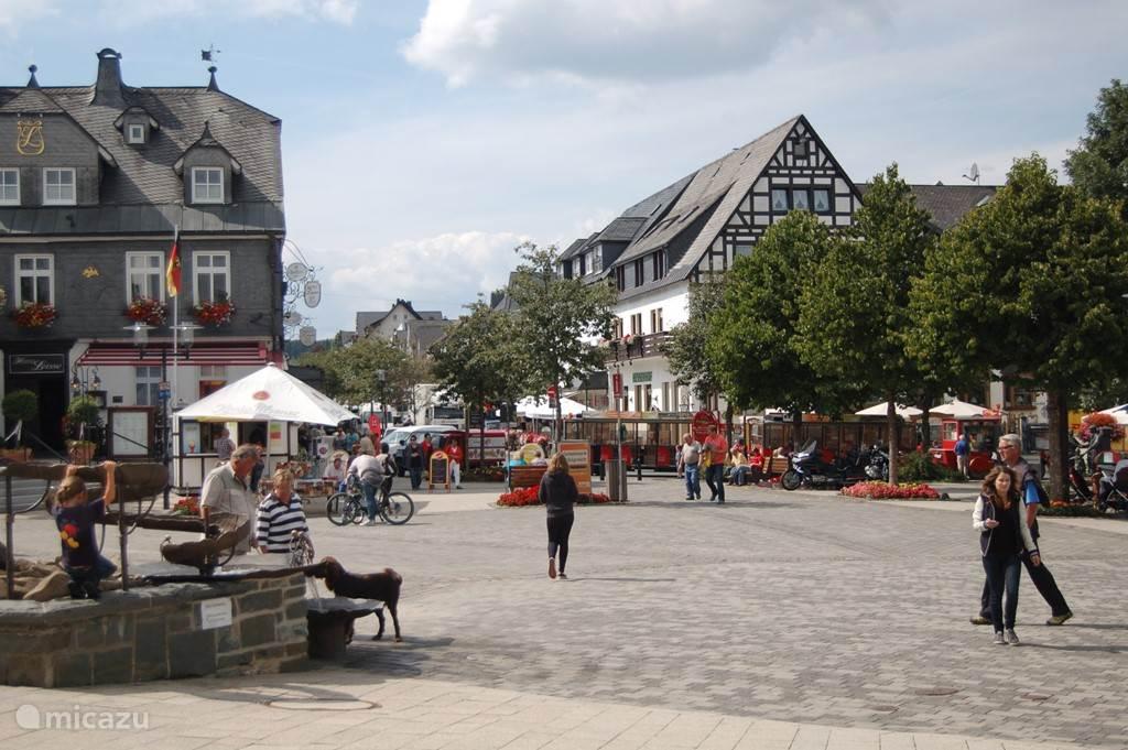 Gezellige marktplaats van Winterberg dichtbij het appartement