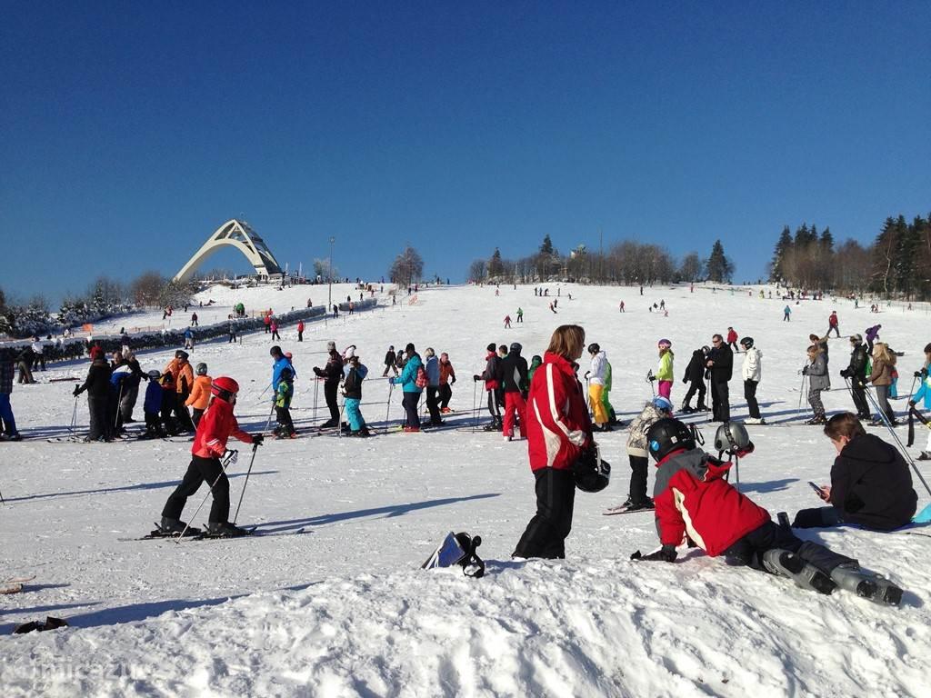 Wintersport in de skikarussell van Winterberg op ca. 1600 meter van uw appartement