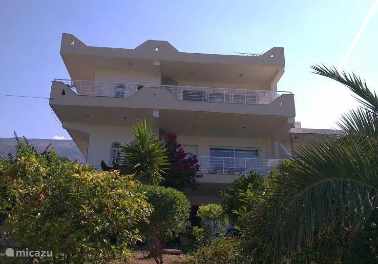 Het huis ligt 30 meter boven zee