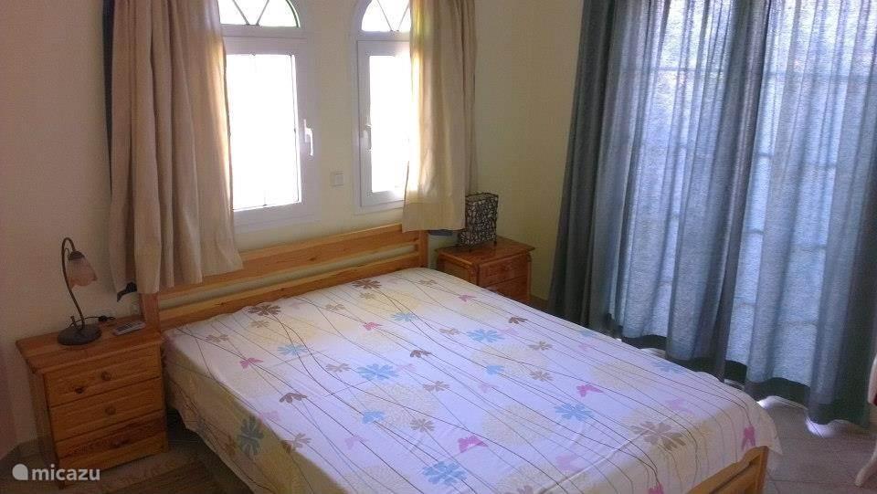 De master bedroom met airco