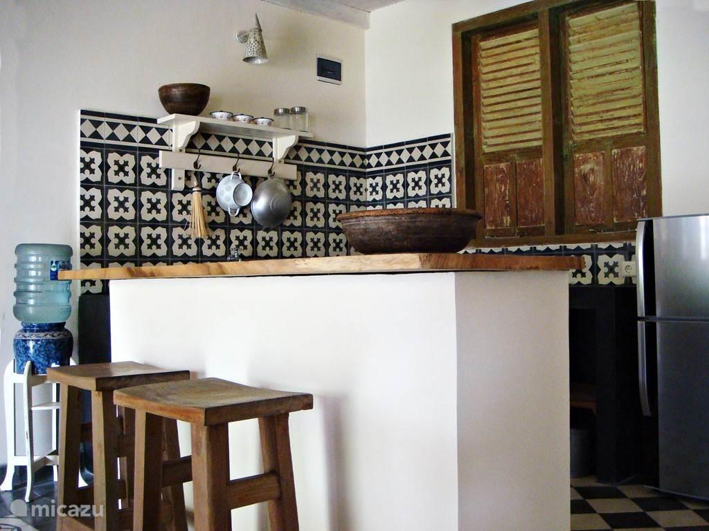 Gold villa: Fijne keuken met gratis drink water