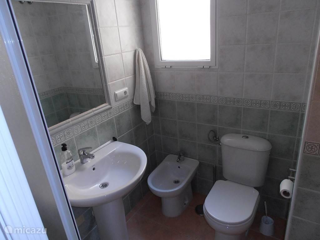 Badkamer op de eerste verdieping