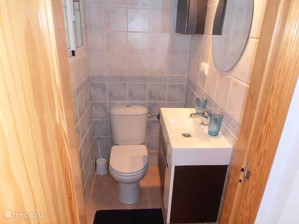 Toilet op het gelijkvloers