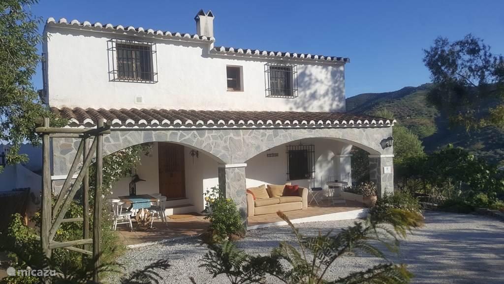 Vakantiehuis Spanje, Costa del Sol, Comares gîte / cottage Idyllische casita - Casa Soleada