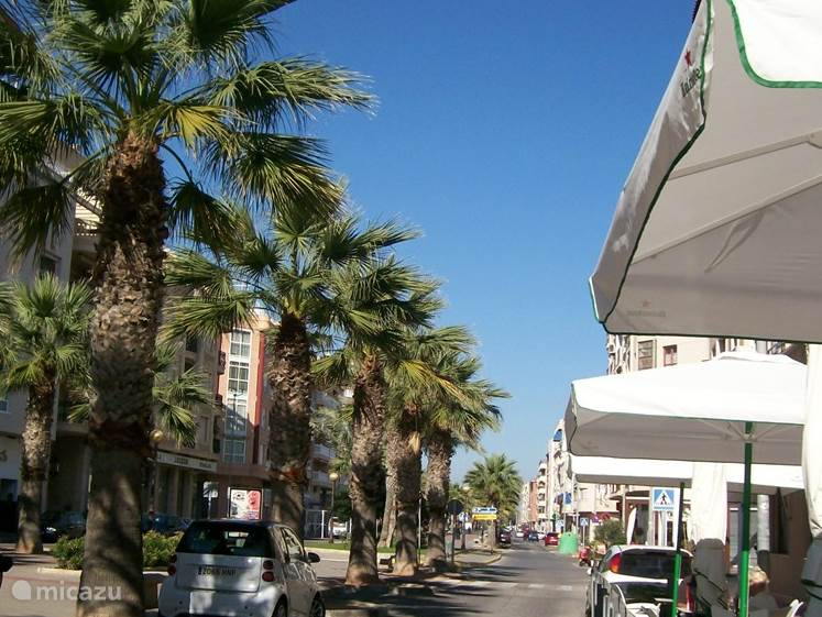 straatje in Guadamar del Segura