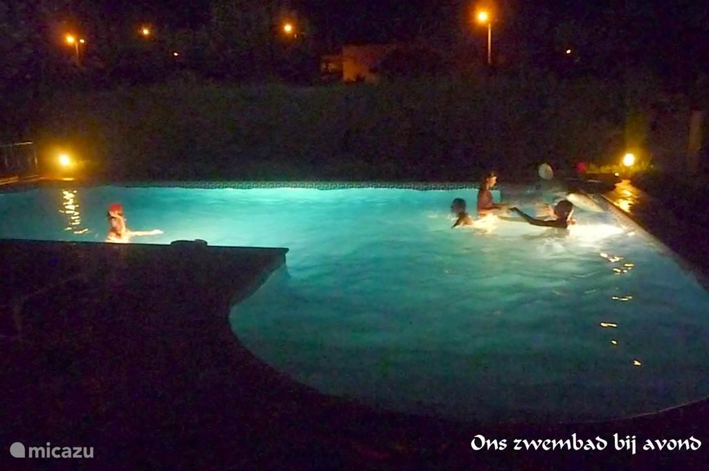 Op een warme zomeravond