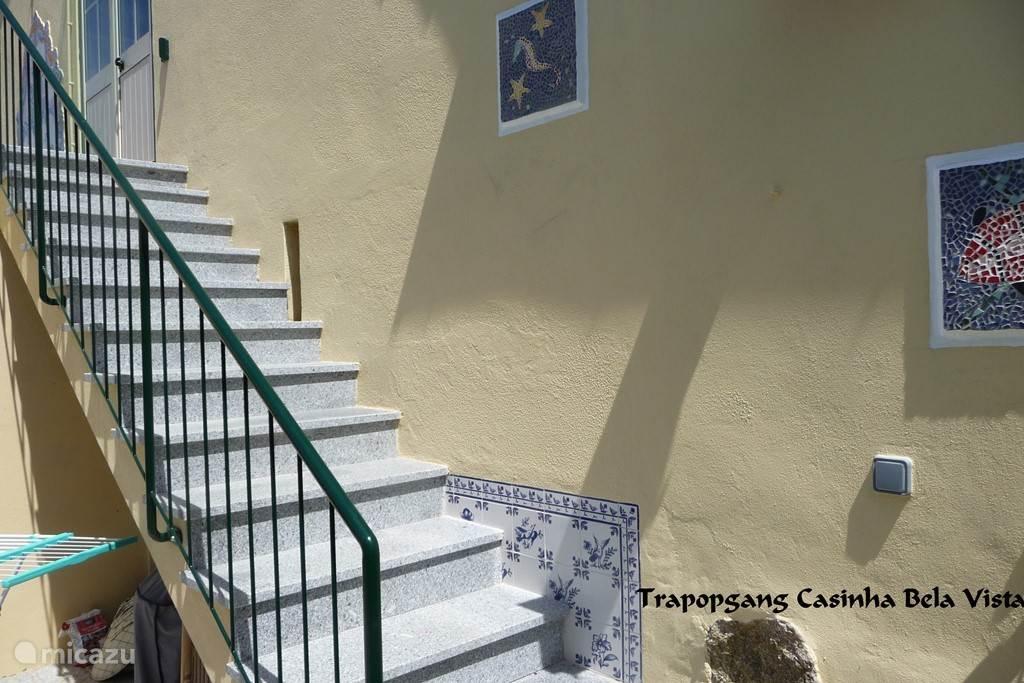 Trapopgang naar Casinha Bela Vista