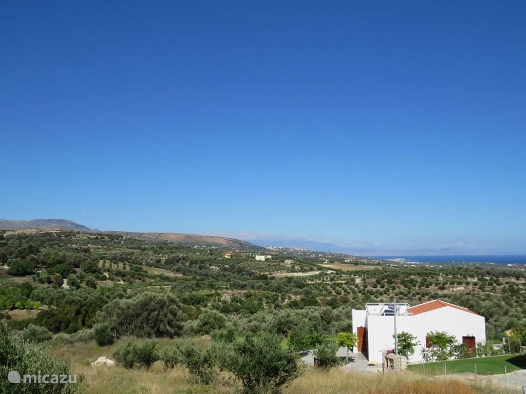 Vrijstaande villa met panoramisch zicht