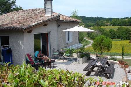 Vakantiehuis Frankrijk, Lot, Castelnau-Montratier vakantiehuis La Perle du Lot