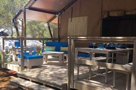 Vacation rental Spain, Costa Brava, Palamos glamping / safari tent / yurt Luxury Tents Catalunya - Geco