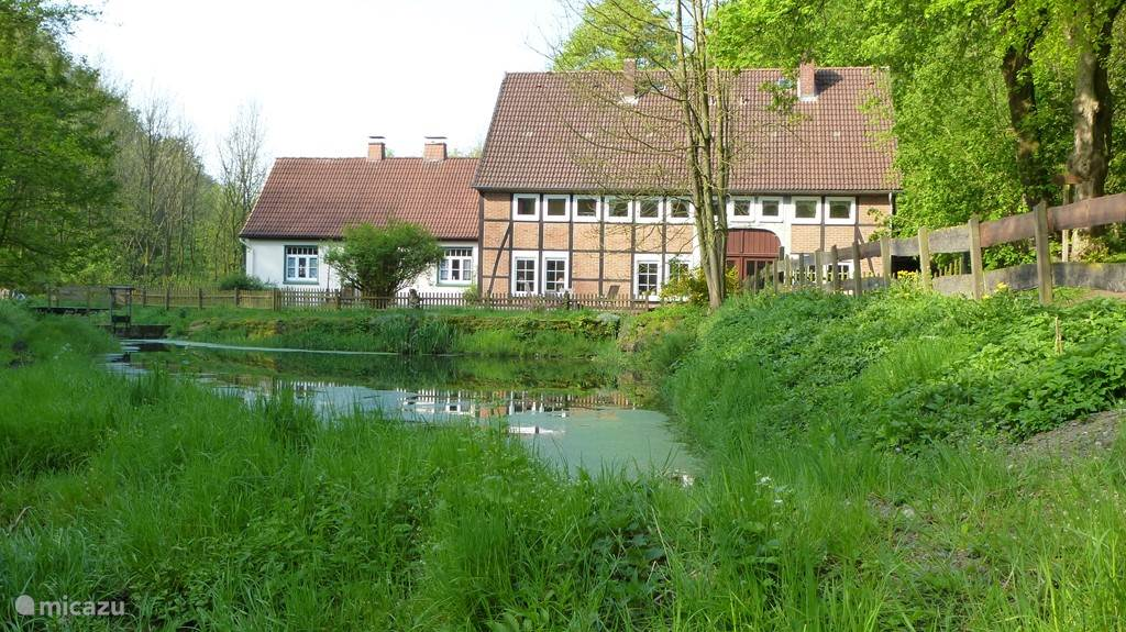 Vacation rental Germany, Lower Saxony, Hessisch Oldendorf holiday house Höllenmühle