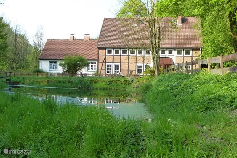 Vakantiehuis Duitsland, Nedersaksen, Hessisch Oldendorf Vakantiehuis Höllenmühle
