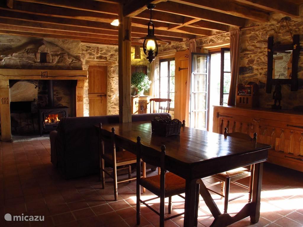 Vakantiehuis Frankrijk, Haute-Vienne, Château-Chervix Vakantiehuis Les Chambaudies sfeervol huis