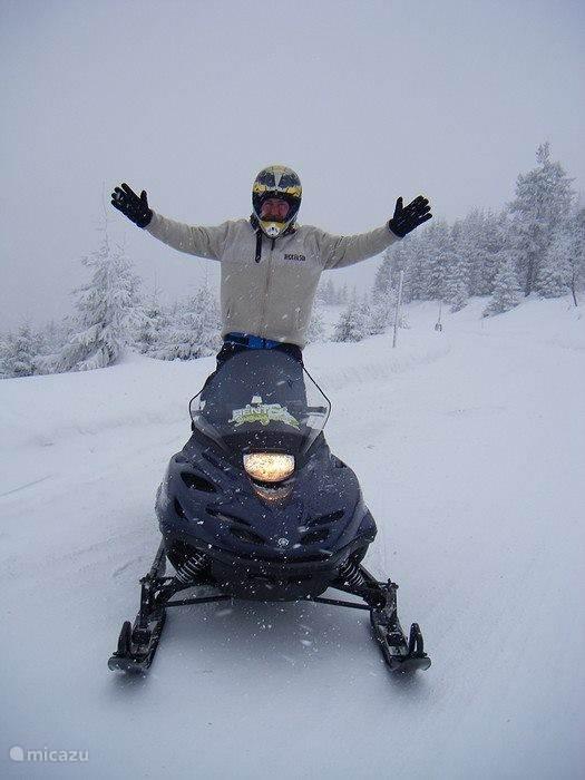 Een tevreden wintersporter