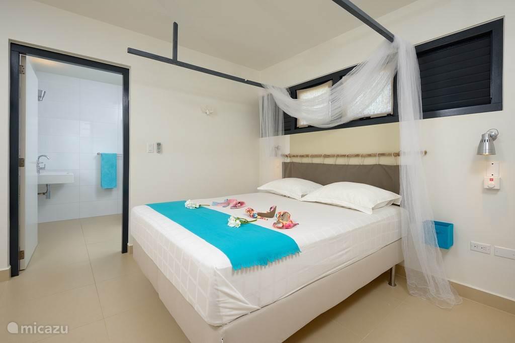 Master bedroom met aangrenzend badkamer