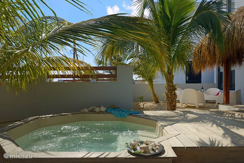 Private Jacuzzi for our guests of Villa Azul
