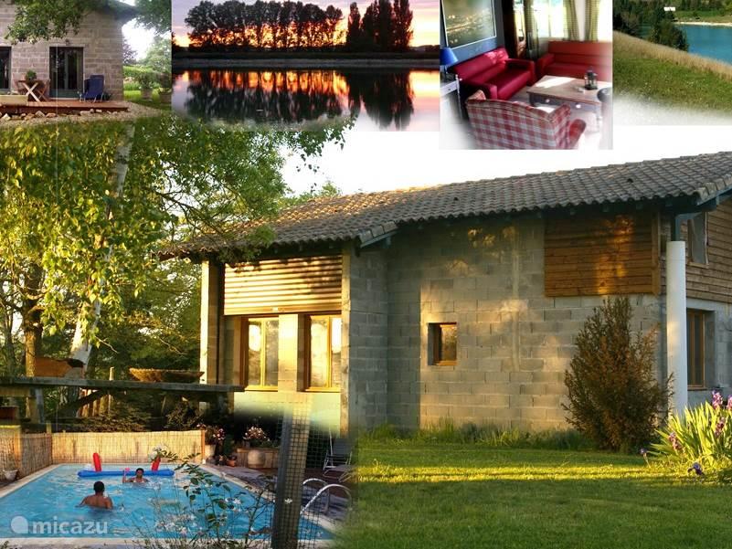 Vakantiehuis Frankrijk, Midi-Pyrénées, Montfermier Vakantiehuis 2 prive vakantiehuizen voor 11 pers