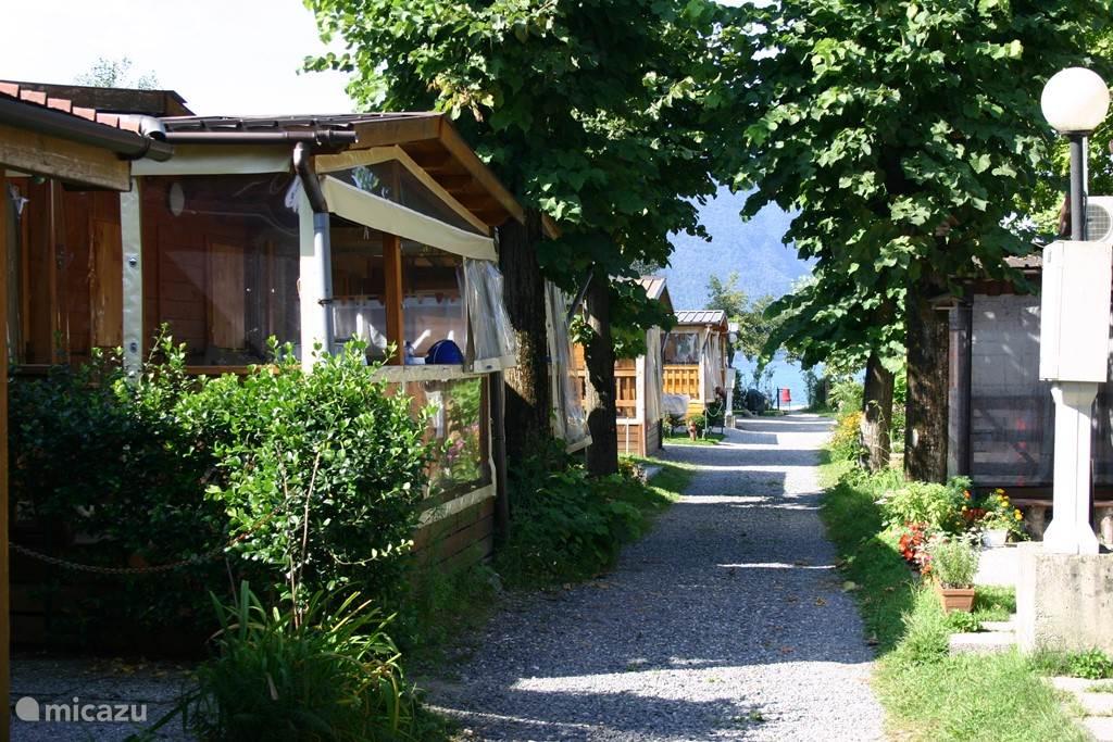 Duiken / snorkelen, Italië, Lombardije, Porlezza, chalet Chalet aan het Luganomeer