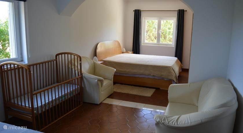 grootste slaapkamer met dubbelbed