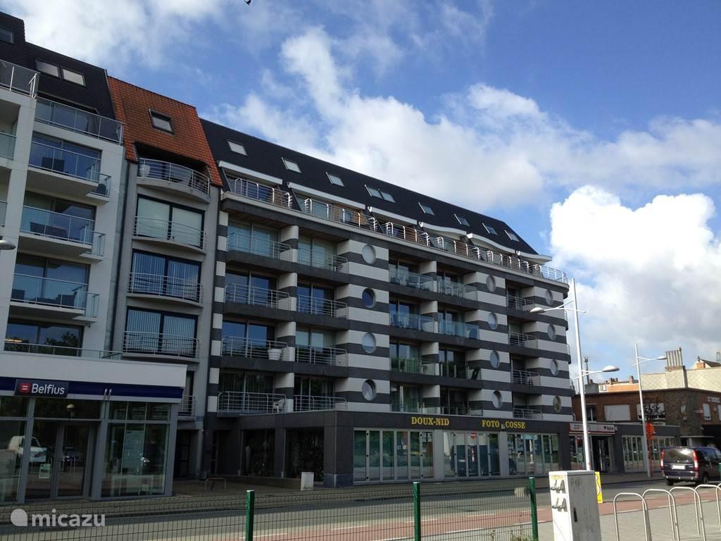 Vakantiehuis België, Belgische Kust – appartement Residentie Nautica